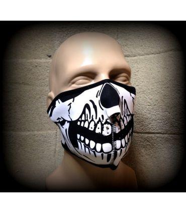 Demi- masque squelette