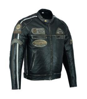 Veste cuir moto (réf:120)