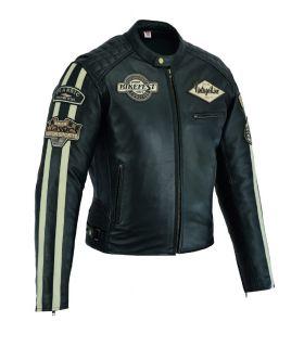 Blouson Vintage cuir moto