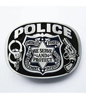 Boucle De Ceinture Police...