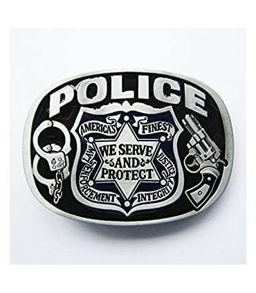 Boucle De Ceinture Police Etoile