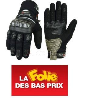 Gants Motos Noir...