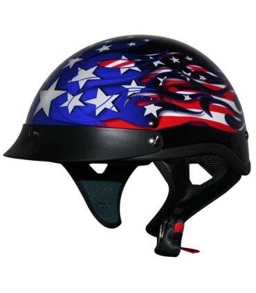 """Casque biker """"USA """""""