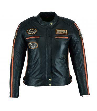 Veste Cuir Moto Vintage
