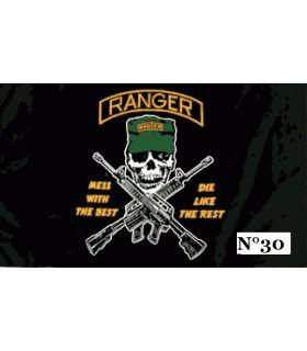 "Drapeau biker ""Ranger"""