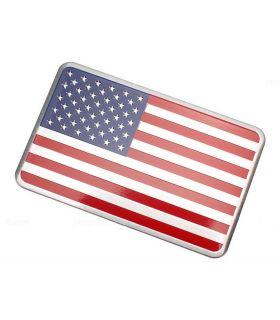 Sticker Métal Drapeau Américain