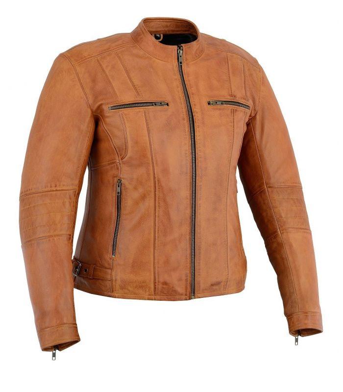Blouson moto- Veste Cuir Vintage