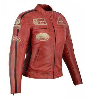 Veste cuir moto vintage...