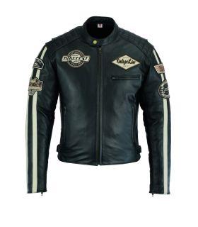Veste Vintage cuir moto...