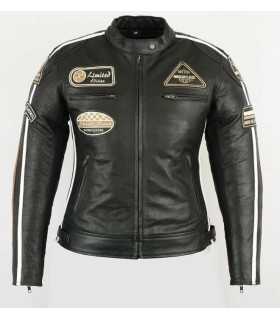 Blouson cuir moto vintage...